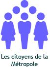 citoyens de la métropole